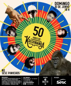 Flyer 50 anos de Krishnanda
