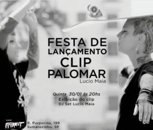 flyer lançamento clip palomar